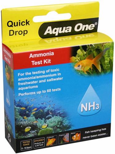 Aqua One Quick Drop Test Kit - Ammonia NH3 (92053)