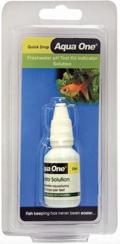 Aqua One Quick Drop PH Indicator Solution (92072)