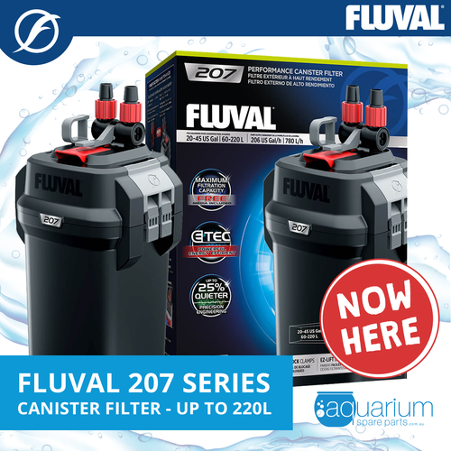 Fluval 207 Canister Filter (up to 220 L)