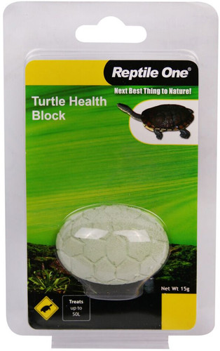 Reptile One Turtle Conditioning Health Block 15g (95022)