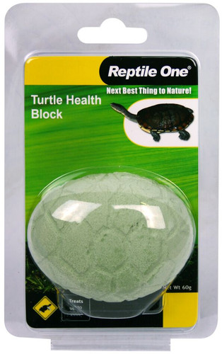 Reptile One Turtle Conditioning Health Block 60g (95023)