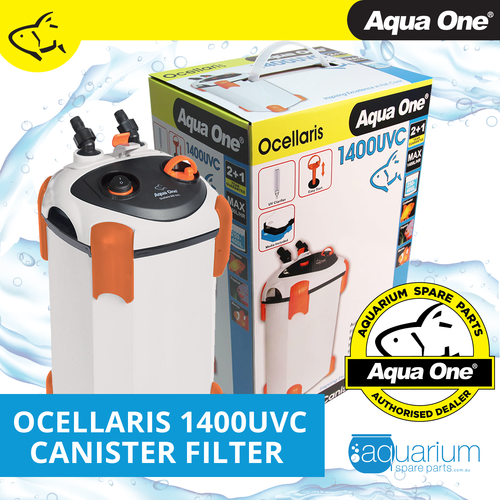 Aqua One Ocellaris 1400UVC Canister Filter (94153)