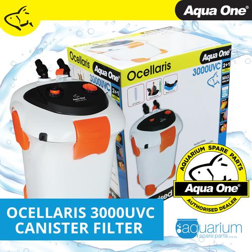 Aqua One Ocellaris 3000UVC Canister Filter (94154)