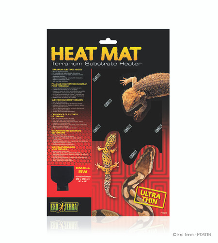 Exo Terra Heat Mat 8w 20x20cm Small