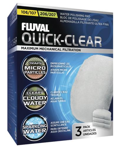Fluval 105/205 & 106/206 & 107/207 Water Polishing Pads (3pk)