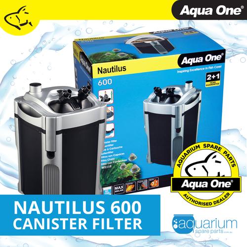 Aqua One Nautilus 600 Canister Filter (94111)