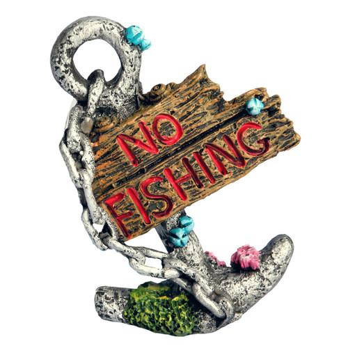 Aqua One Anchor No Fishing Ornament (36915)