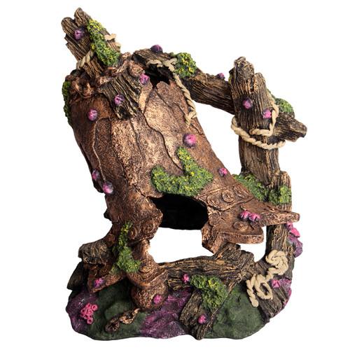 Aqua One Ruined Bronze Bell L Ornament (36934)