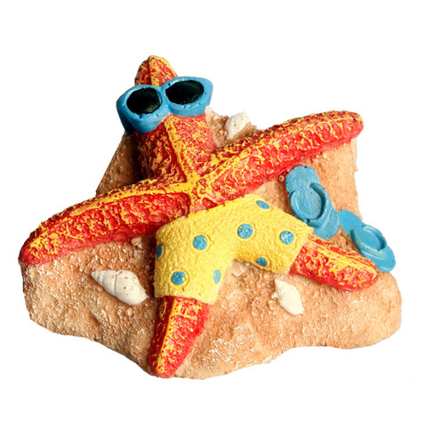 Aqua One Starfish on Beach Ornament (36951)
