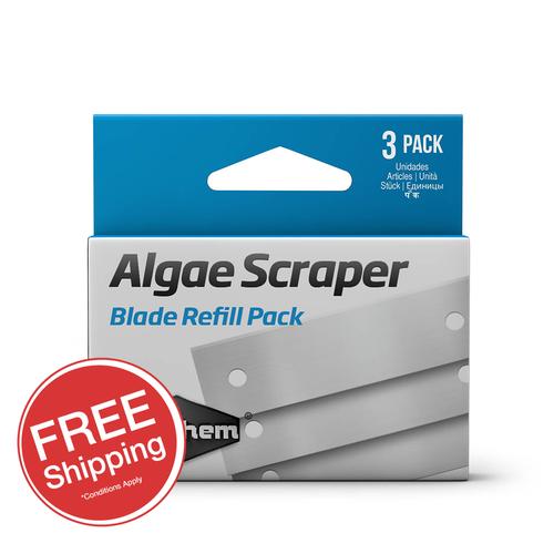 Seachem Algae Scraper 3 in 1 Replacement Blades (3pk)