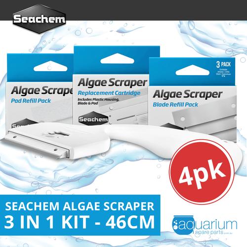 Seachem Algae Scraper 3 in 1 Kit - 46cm