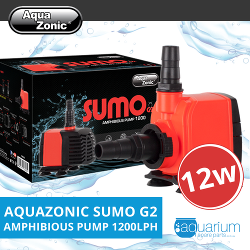 AquaZonic Sumo G2 Amphibious Water Pump - 1200lph