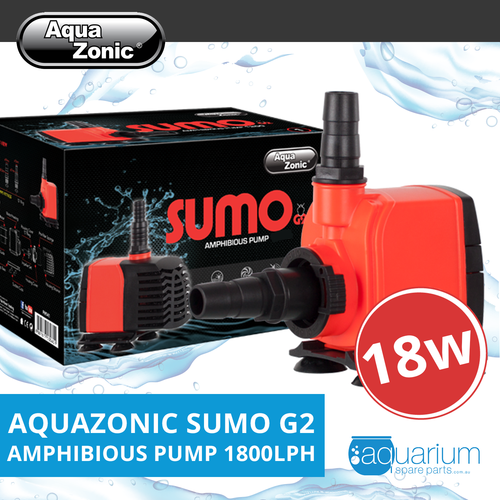 AquaZonic Sumo G2 Amphibious Water Pump - 1800lph