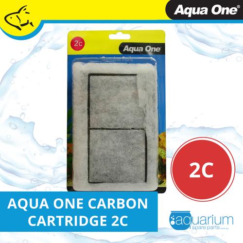 Aqua One AquaStyle 510 & LifeStyle 52 Carbon Cartridge (2pk) 2c (25002c)