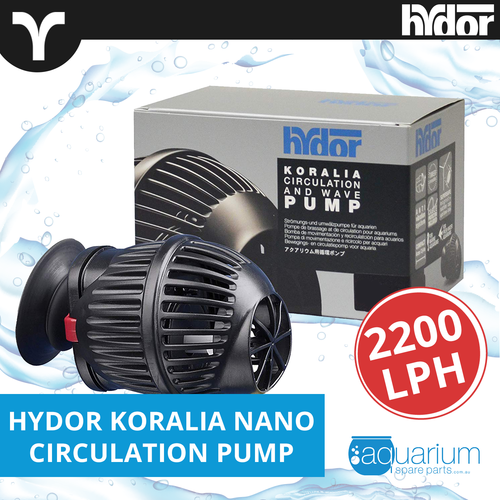 Hydor Koralia Nano Circulation Wave Pump 2200lph