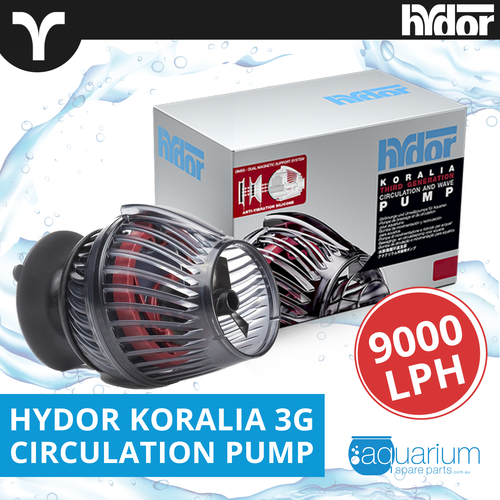 Hydor Koralia 3G Circulation Wave Pump 9000lph