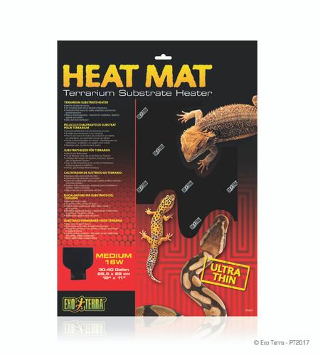Exo Terra Heat Mat 16w 26.5x28cm Medium