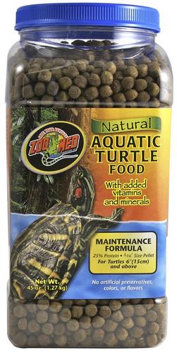 Zoo Med Aquatic Turtle Food Adult Maintenance 1.3kg