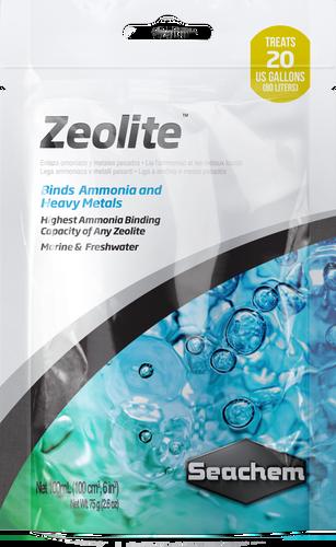 Seachem Zeolite 100ml Bagged