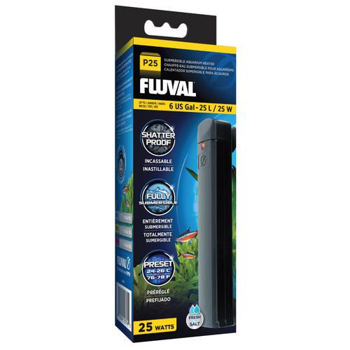 Fluval P25 Submersible Aquarium Heater 25W