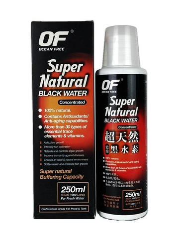 Ocean Free Super Natural Black Water Concentrated Tonic 250ml