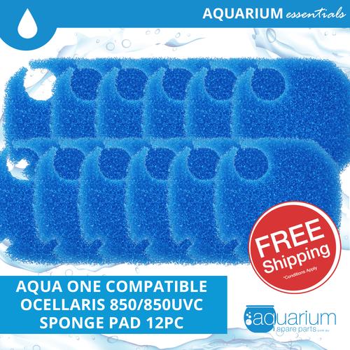 Aqua One Ocellaris 850/850UVC Compatible Coarse Pad (6 pack)