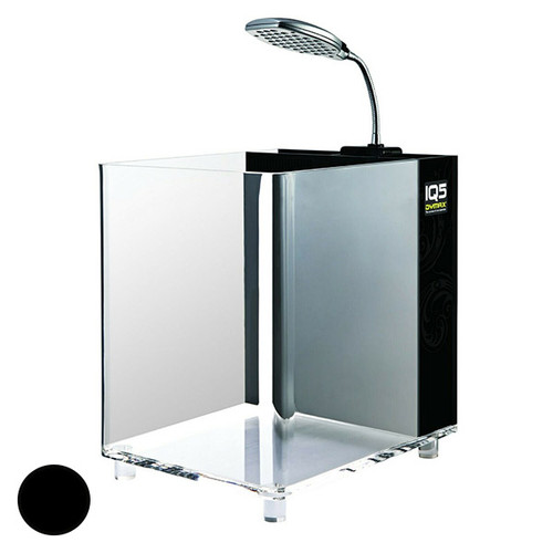 Dymax IQ5 Acrylic Aquarium Black Onyx - 13L (DM007)