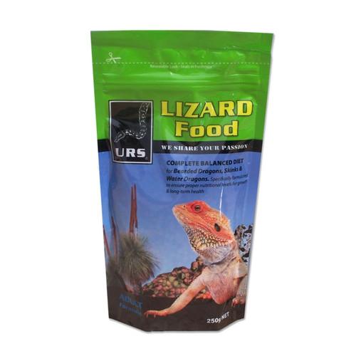 URS URS Lizard Food - Adult - 250g (10.04a)