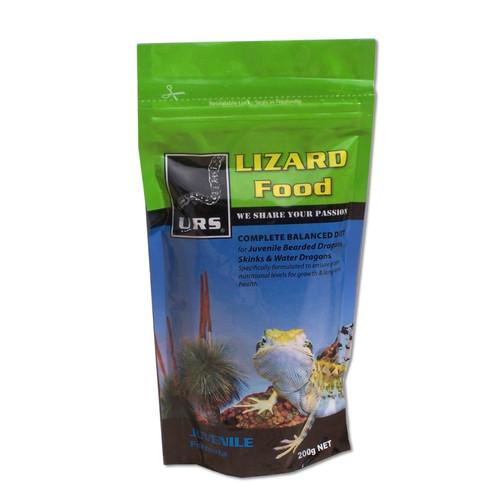 URS URS Lizard Food - Juvenile - 200g (10.04j)