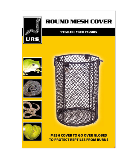 URS Round Mesh Cover 130mmD x 200mmH (04.21)