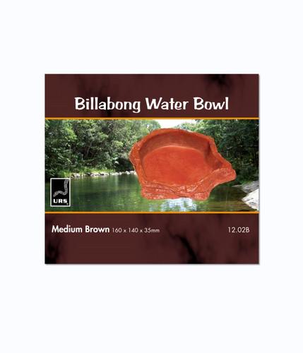 URS Billabong Bowl Med Brown 16 x 14 x 3.5cm 225ml v (12.02B)