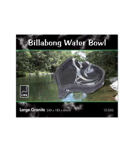 URS Billabong Bowl Lge Granite 24 x 18.5 x 6cm 900ml v (12.03G)