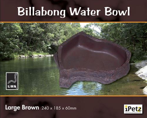 URS Billabong Bowl Lge Brown 24 x 18.5 x 6cm 900ml v (12.03B)