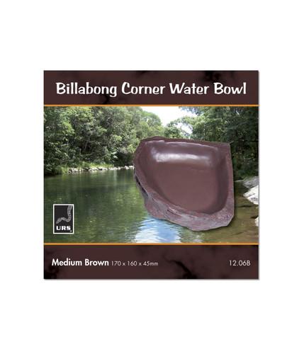 URS Billabong Cnr Bowl Med Br 17 x 16 x 4.5cm 350ml v (12.06B)