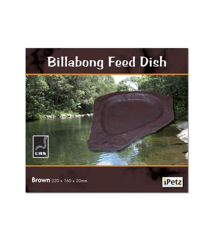 URS Billabong Feed Dish Brown 22 x 16 x 2cm (12.08B)