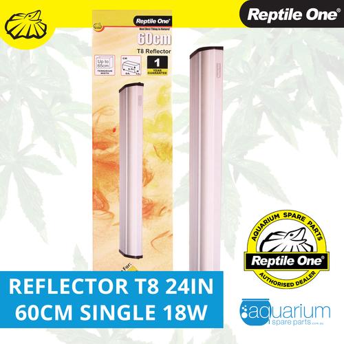 Reptile One Reflector 24in 60cm Single T8 18W (46572R)