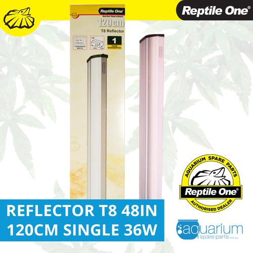 Reptile One Reflector 48in 120cm Single T8 36W (46574R)