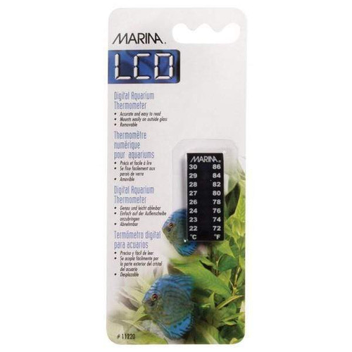 Marina LCD Thermometer 22 to 30°C 4.5cm