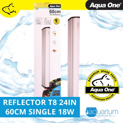 Aqua One Reflector 24in 60cm Single T8 18W (46572A)