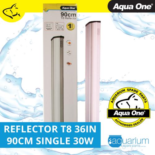 Aqua One Reflector 36in 90cm Single T8 30W (46573A)