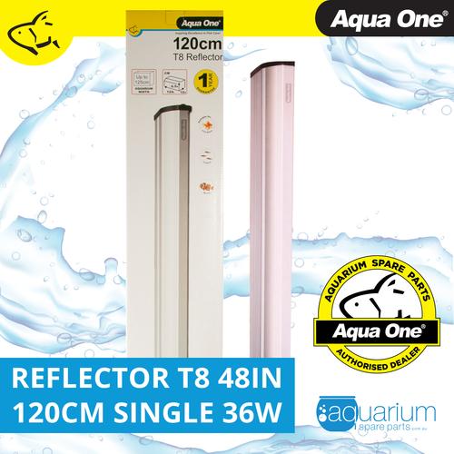 Aqua One Reflector 48in 120cm Single T8 36W (46574A)