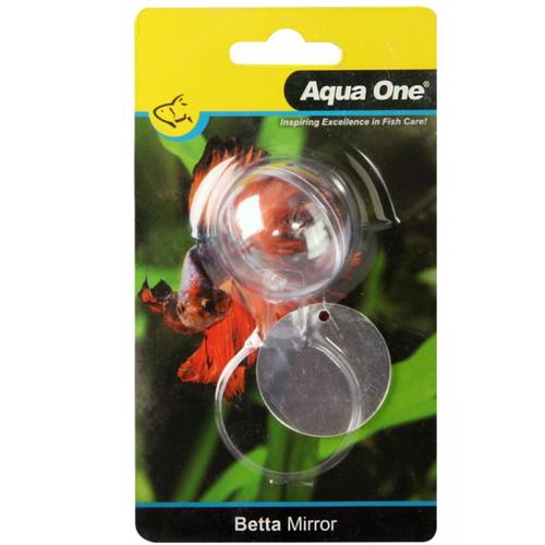 Aqua One Betta Mirror w/ Float Acrylic 17cm (28454)