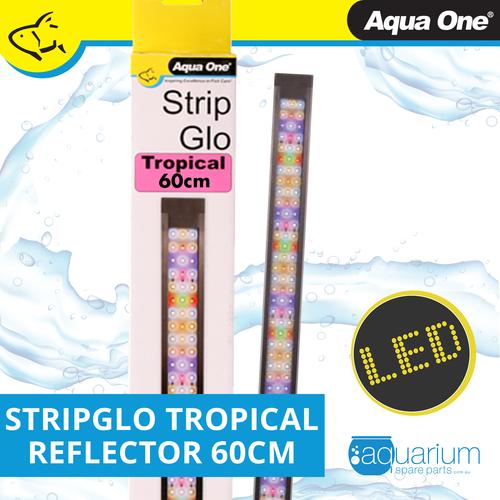 Aqua One StripGlo Tropical LED Reflector 60cm 22W (59020)