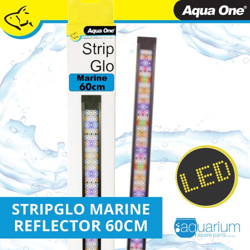 Aqua One StripGlo Marine LED Reflector 60cm 17.5W (59012)