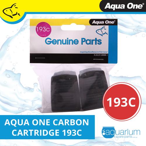 Aqua One IFXE 100 Carbon Cartridge (2pk) 193c (25193c)