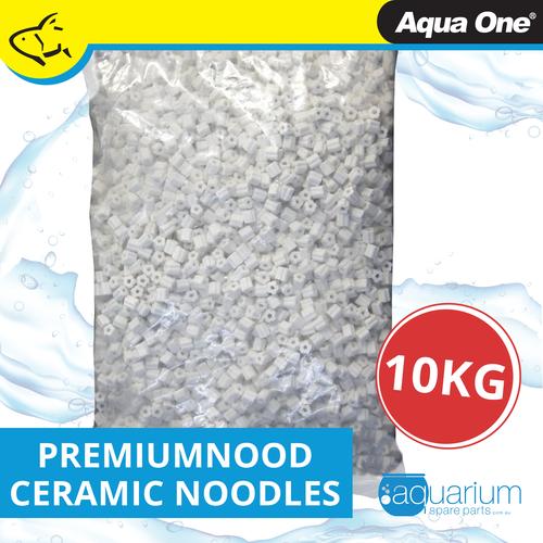 Aqua One PremiumNood Ceramic Noodles 10kg Bag (10417-A)