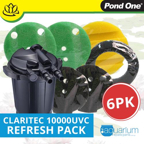 Pond One ClariTec 10000UVC Refresh Pack inc. 208s, 209s, 211s & 212s (6pk)