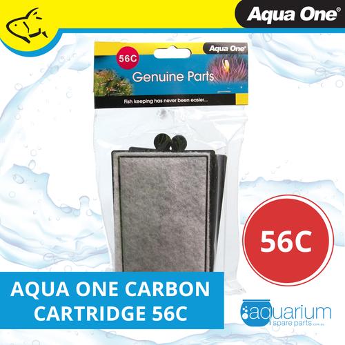 Aqua One ClearView 400 Filter Carbon Cartridge 56c (2pk) (25056c)