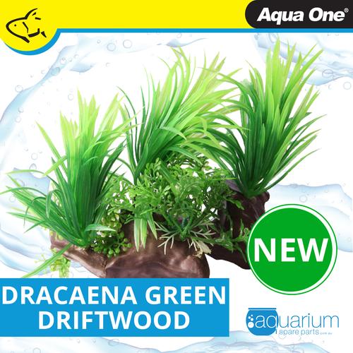 Aqua One Ecoscape Dracaena On Driftwood Green (28471)