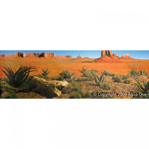 Reptile One Background Desert Yellow Land Single Sided 30cm (Per Metre) (10204)